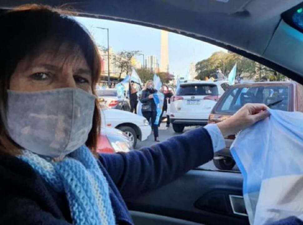 """Veteranos de Malvinas de Ituzaingó repudiaron los dichos de Patricia Bullrich y la calificaron de """"nefasto personaje"""""""