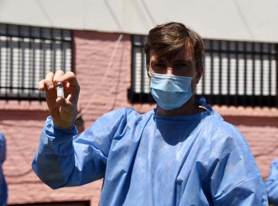 Casi 60 mil personas se vacunaron en Morón, el distrito con mejor tasa de vacunación