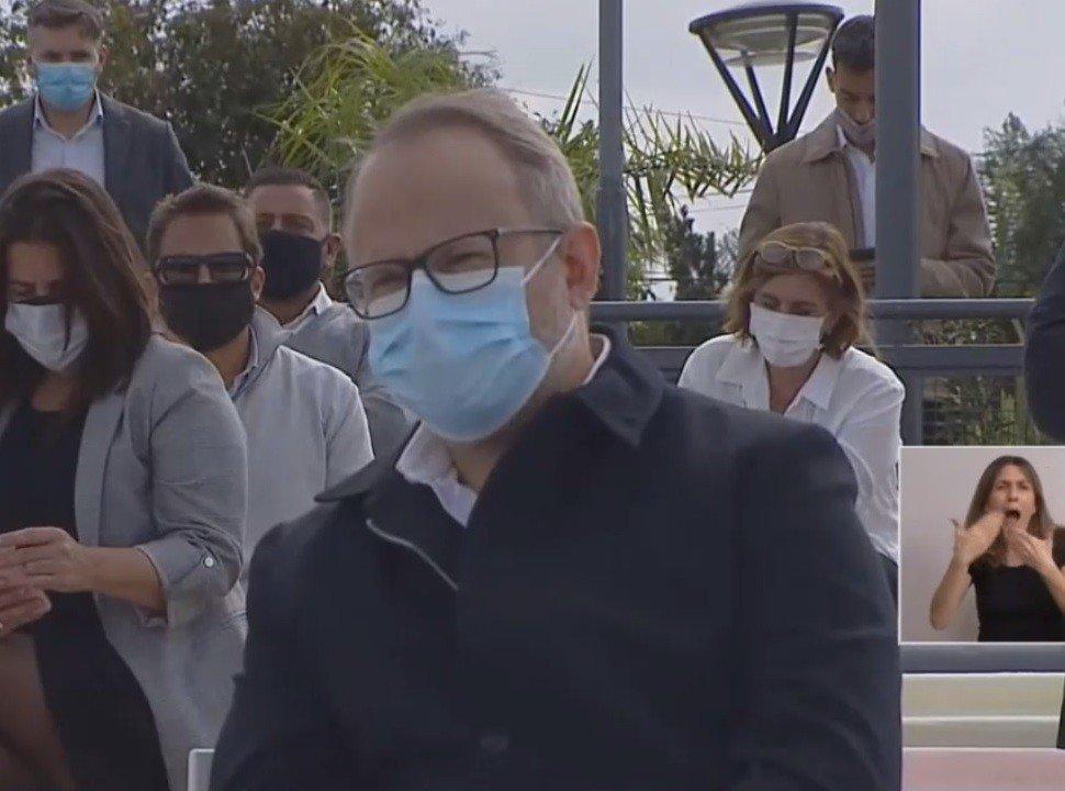Las palabras de Alberto a Valenzuela y el pedido para dejar de lado las diferencias en pandemia
