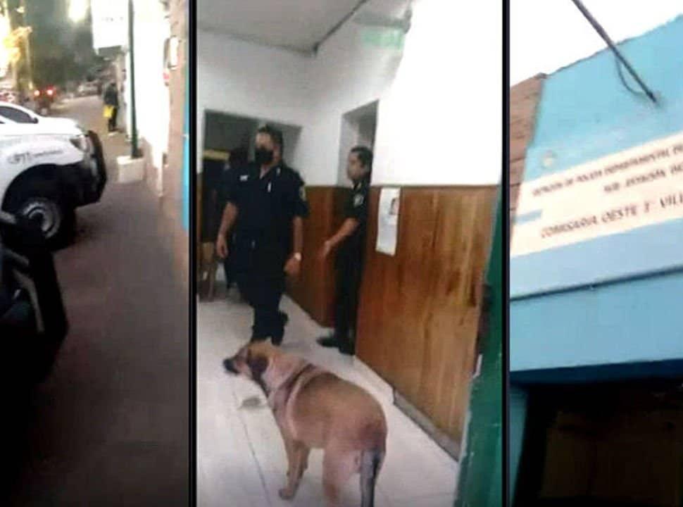 VIDEO: les robaron y como la policía no fue, una vecina de Villa Luzuriaga armó un escándalo en la comisaria