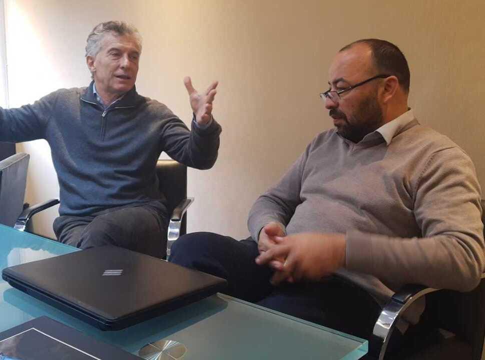 Macri se mete en la interna de Juntos por el Cambio en La Matanza: recibió al concejal Lalo Creus
