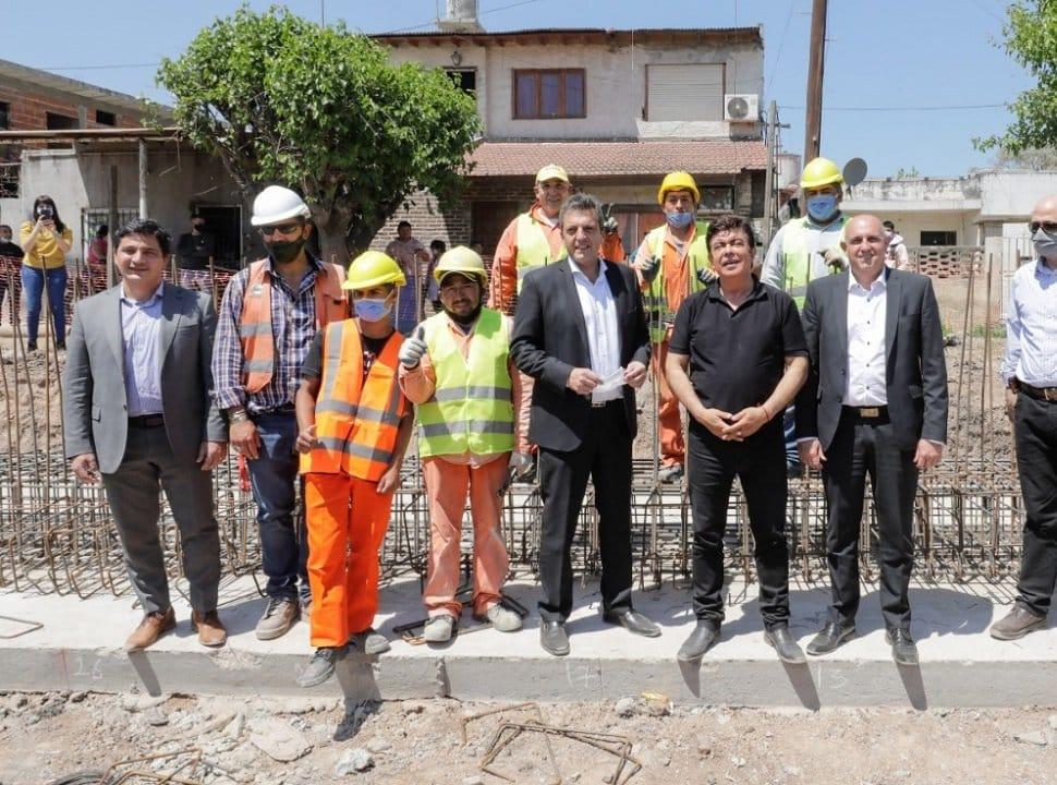 Massa y Espinoza anunciaron obras en estaciones de trenes de La Matanza